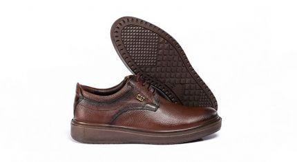 کفش کلاسیک مدل دیپلمات قهوه ای