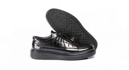 کفش طبی مردانه مدل رئال مشکی