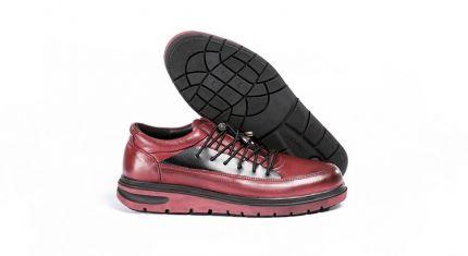 کفش طبی مردانه مدل رئال زرشکی