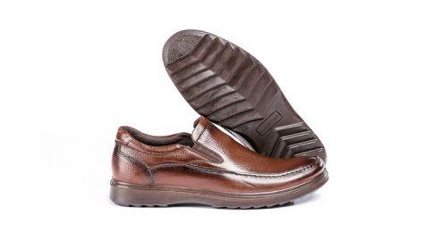 کفش طبی مردانه مدل کلارک قهوه ای