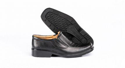 کفش طبی مردانه مدل ساعتی مشکی