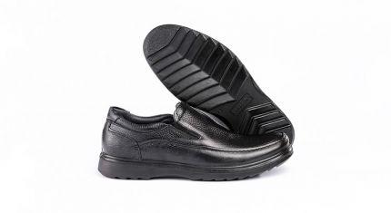 black deplomat shoes