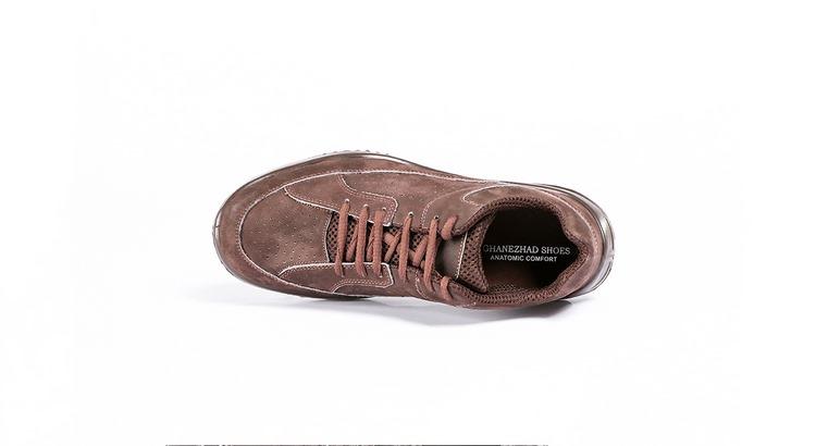 کفش ورزشی مردانه قهوه ای