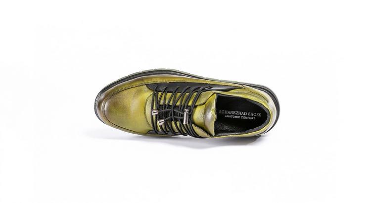 کفش طبی مردانه مدل رئال زیتونی