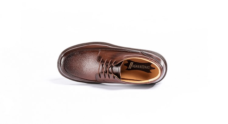 کفش طبی مردانه مدل مارشال قهوه ای