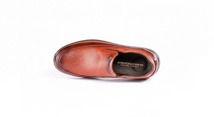 کفش کلاسیک مردانه مدل کلارک عسلی