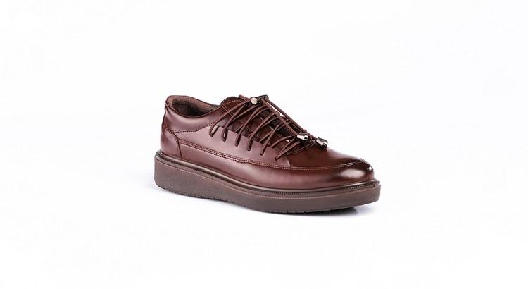 کفش طبی مردانه مدل رئال قهوه ای